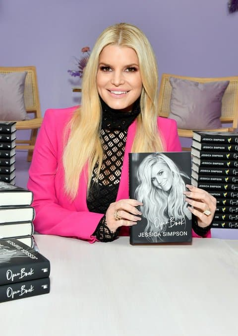 Jessica Simpson at her Open Book book signing