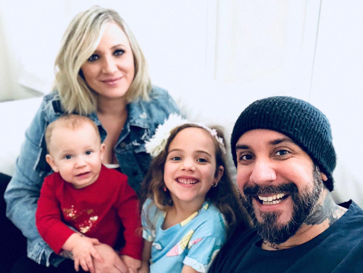 AJ McLean family